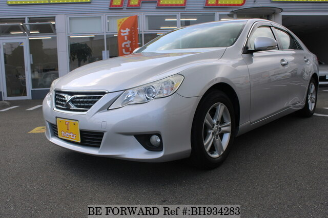Used 2010 TOYOTA MARK X BH934283 for Sale