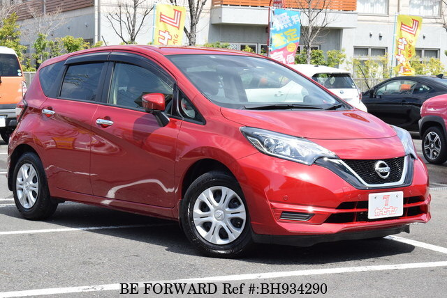 Used 2019 NISSAN NOTE BH934290 for Sale
