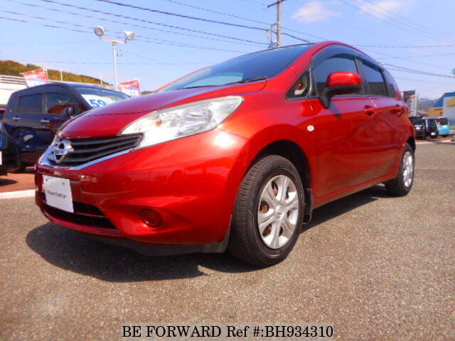Used 2014 NISSAN NOTE BH934310 for Sale
