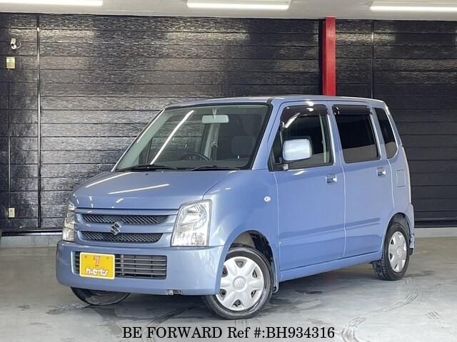Used 2007 SUZUKI WAGON R BH934316 for Sale