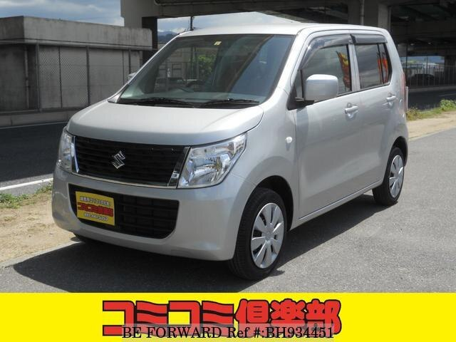 Used 2015 SUZUKI WAGON R BH934451 for Sale