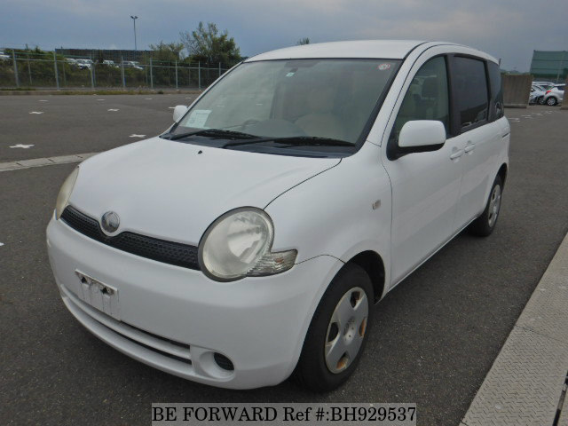 Used 2004 TOYOTA SIENTA BH929537 for Sale