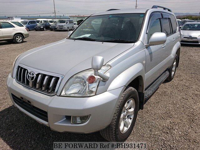 Used 2003 TOYOTA LAND CRUISER PRADO BH931471 for Sale