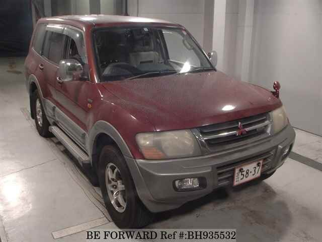 Used 2002 MITSUBISHI PAJERO BH935532 for Sale
