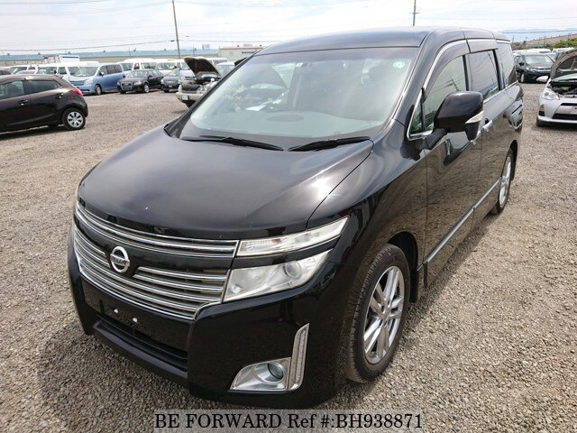 Used 2012 NISSAN ELGRAND BH938871 for Sale