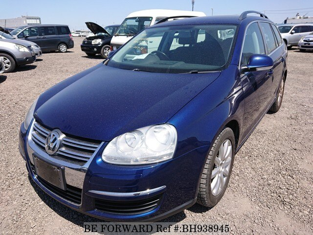 Used 2008 VOLKSWAGEN GOLF VARIANT BH938945 for Sale