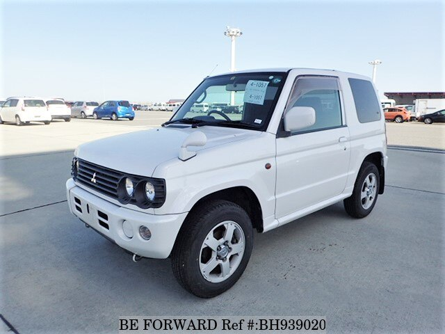 Used 2001 MITSUBISHI PAJERO MINI BH939020 for Sale