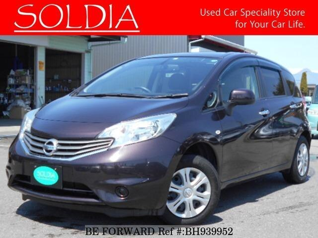 Used 2012 NISSAN NOTE BH939952 for Sale