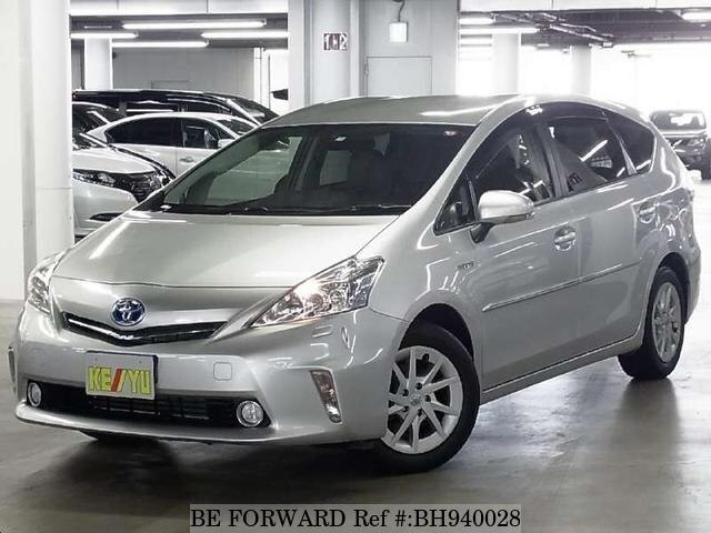 Used 2013 TOYOTA PRIUS ALPHA BH940028 for Sale