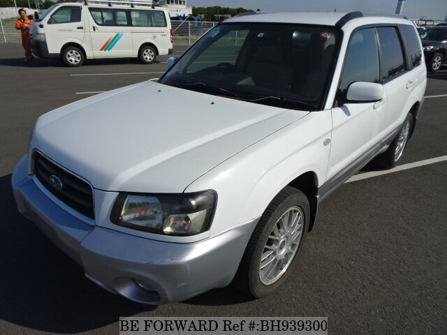 Used 2004 SUBARU FORESTER BH939300 for Sale