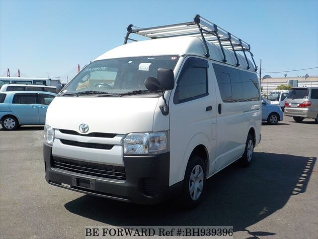 Used 2016 TOYOTA HIACE VAN BH939396 for Sale