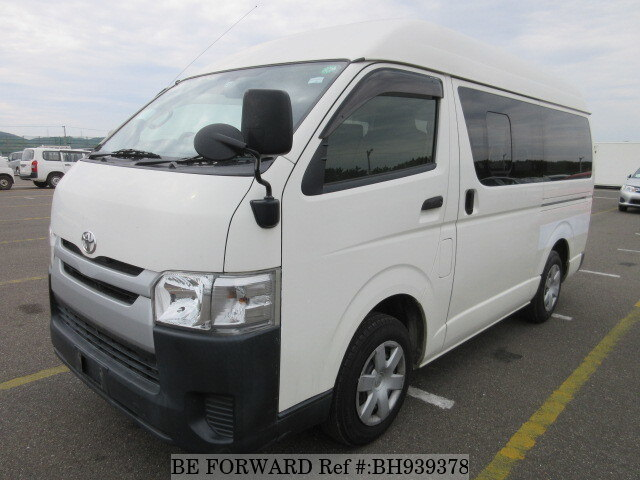 Used 2015 TOYOTA HIACE VAN BH939378 for Sale