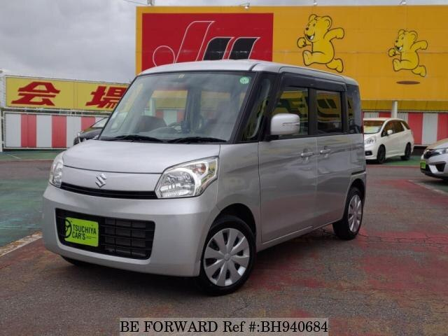 Used 2014 SUZUKI SPACIA BH940684 for Sale