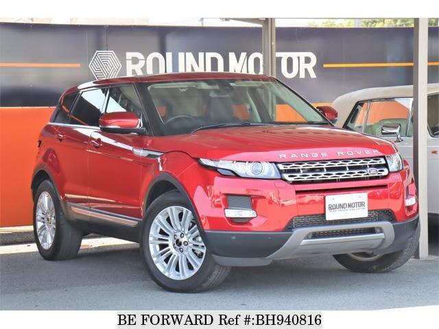 Used 2013 LAND ROVER RANGE ROVER EVOQUE BH940816 for Sale