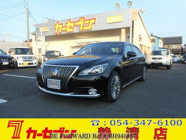 Used 2015 TOYOTA CROWN MAJESTA BH940857 for Sale