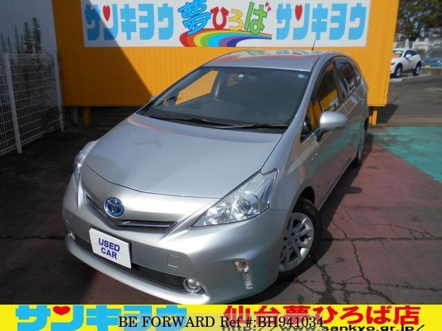 Used 2011 TOYOTA PRIUS ALPHA BH941034 for Sale