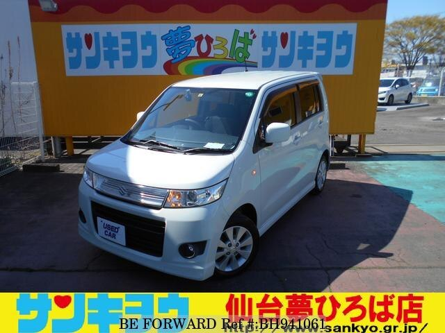 Used 2011 SUZUKI WAGON R BH941061 for Sale