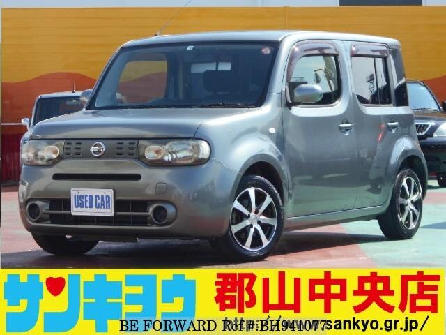 Used 2010 NISSAN CUBE BH941077 for Sale
