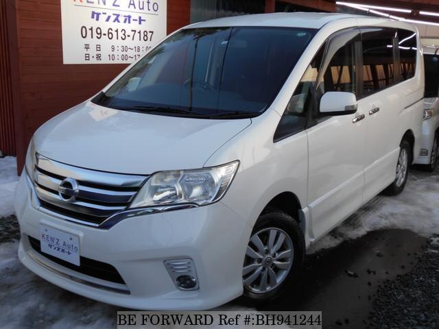 Used 2012 NISSAN SERENA BH941244 for Sale