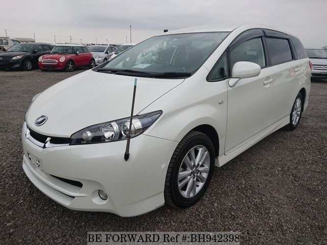 Used 2010 TOYOTA WISH BH942398 for Sale