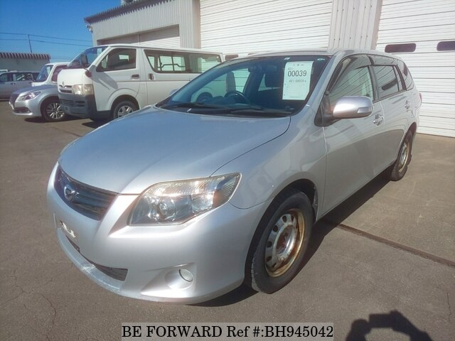 Used 2011 TOYOTA COROLLA FIELDER BH945042 for Sale