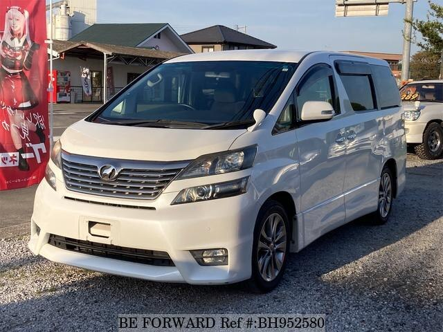 Used 2010 TOYOTA VELLFIRE BH952580 for Sale