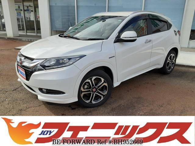 Used 2014 HONDA VEZEL BH952669 for Sale