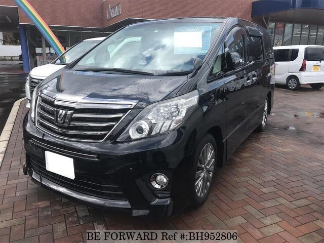 Used 2013 TOYOTA ALPHARD BH952806 for Sale