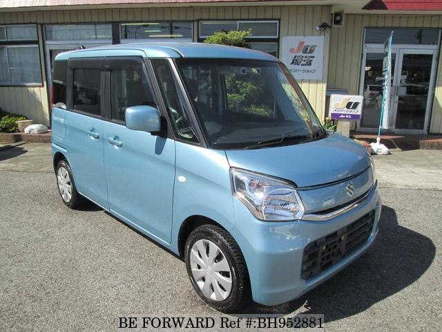 Used 2015 SUZUKI SPACIA BH952881 for Sale