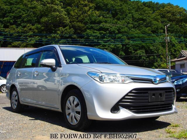 Used 2015 TOYOTA COROLLA FIELDER BH952907 for Sale
