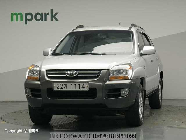 Used 2007 KIA SPORTAGE BH953099 for Sale