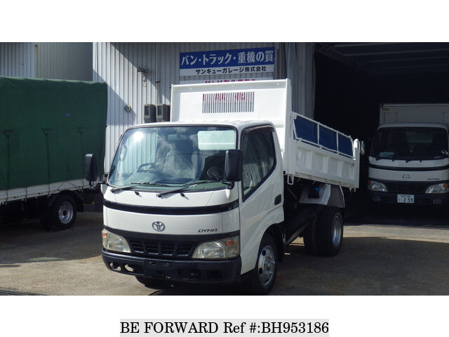 Used 2004 TOYOTA DYNA TRUCK BH953186 for Sale