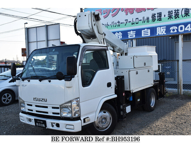 Used 2010 ISUZU ELF TRUCK BH953196 for Sale