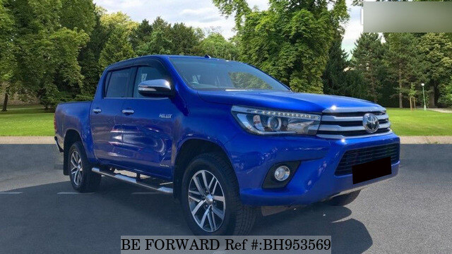Used 2017 TOYOTA HILUX BH953569 for Sale