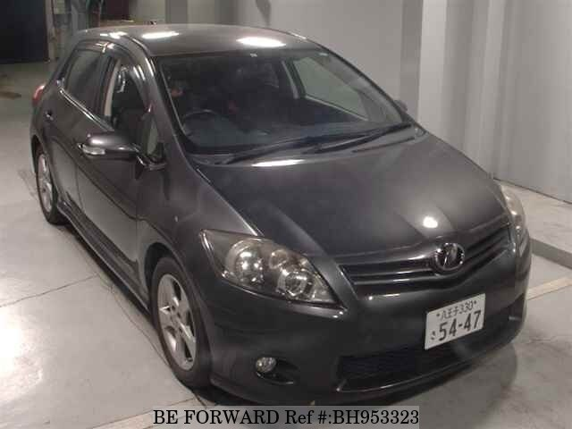 Used 2011 TOYOTA AURIS BH953323 for Sale
