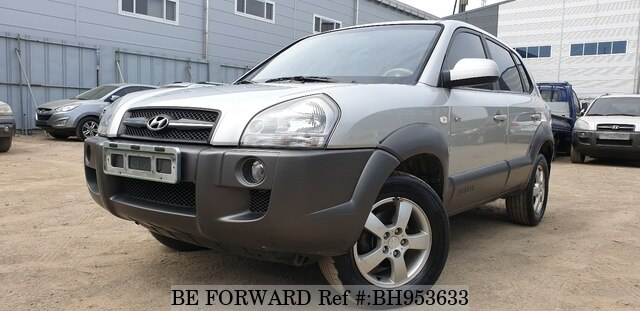 Used 2004 HYUNDAI TUCSON BH953633 for Sale