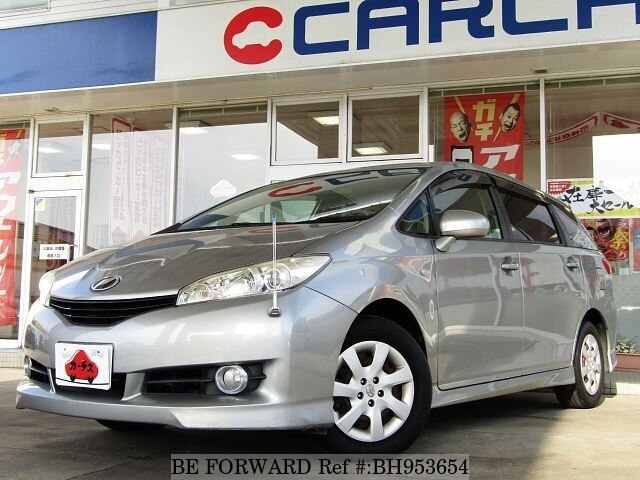 Used 2009 TOYOTA WISH BH953654 for Sale