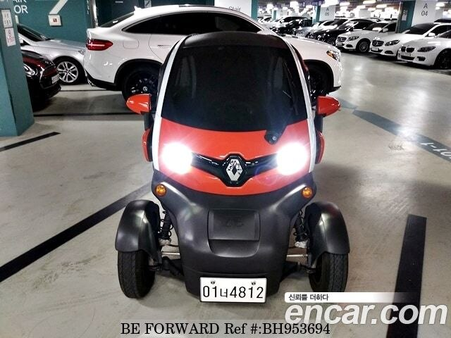 Used 2018 RENAULT SAMSUNG TWIZY BH953694 for Sale
