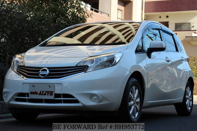 Used 2013 NISSAN NOTE BH953772 for Sale