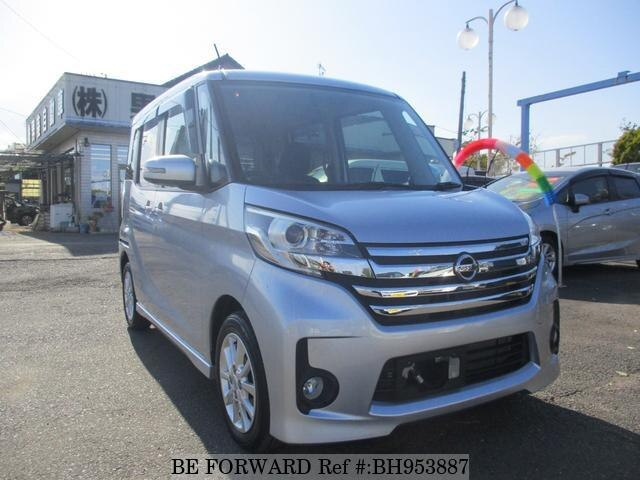 Used 2014 NISSAN DAYZ ROOX BH953887 for Sale