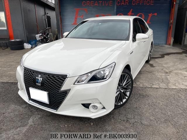 Used 2015 TOYOTA CROWN HYBRID BK003930 for Sale