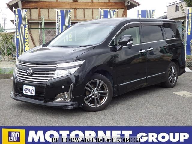 Used 2012 NISSAN ELGRAND BK004033 for Sale