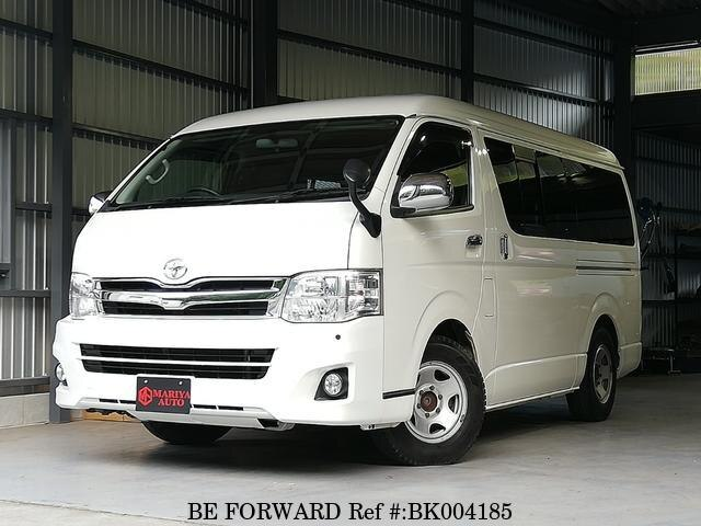 Used 2013 TOYOTA HIACE VAN BK004185 for Sale