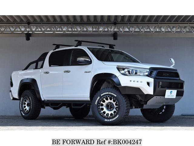 Used 2018 TOYOTA HILUX BK004247 for Sale
