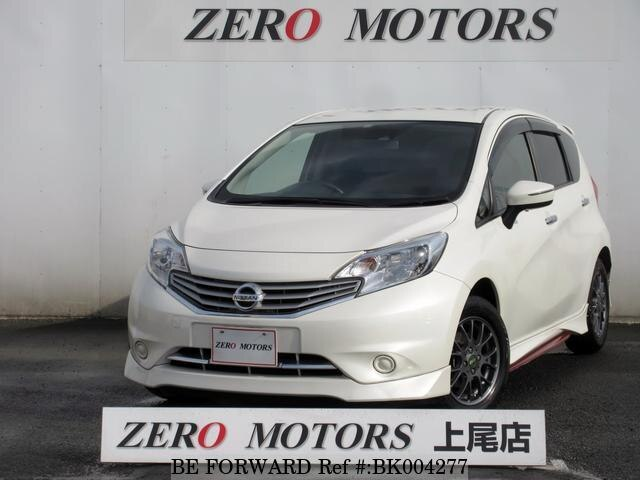 Used 2015 NISSAN NOTE BK004277 for Sale