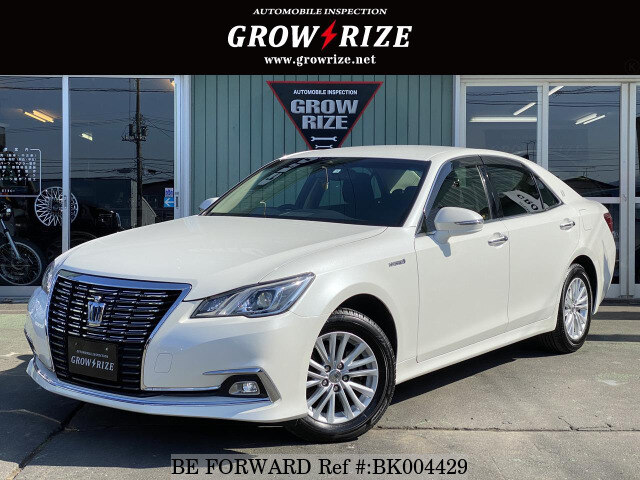 Used 2016 TOYOTA CROWN HYBRID BK004429 for Sale