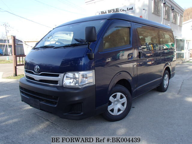 Used 2012 TOYOTA HIACE WAGON BK004439 for Sale