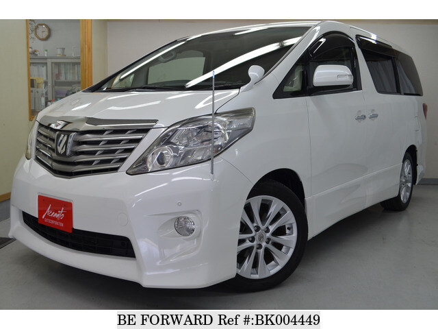 Used 2008 TOYOTA ALPHARD BK004449 for Sale