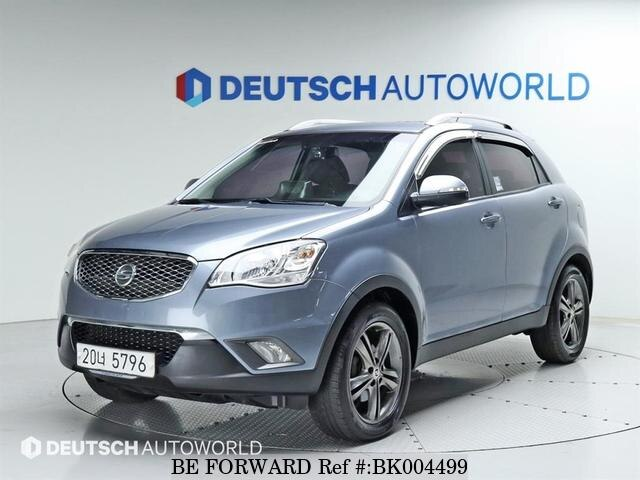 Used 2012 SSANGYONG KORANDO BK004499 for Sale