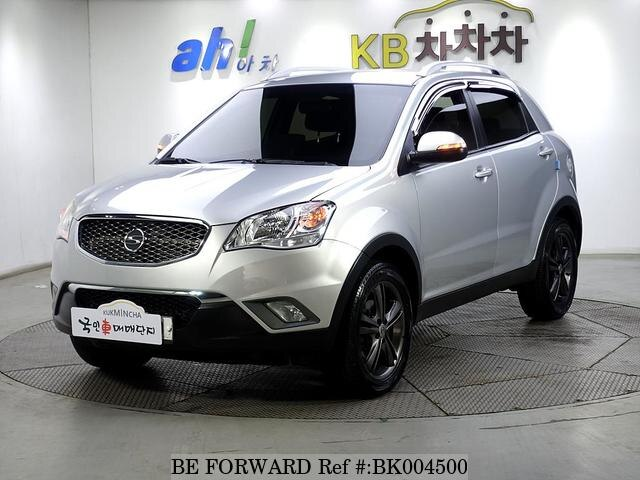 Used 2012 SSANGYONG KORANDO BK004500 for Sale